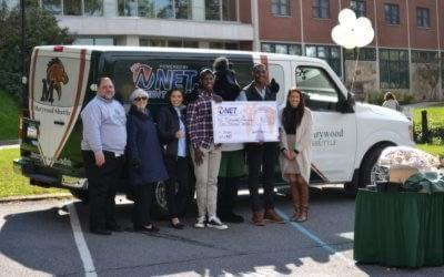 MARYWOOD STUDENTS NOW HAVE A RELIABLE, COST-EFFICIENT UNIVERSITY SHUTTLE