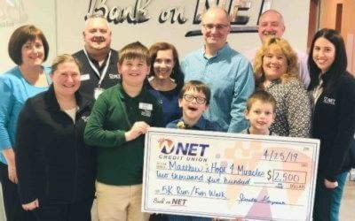 NET Credit Union Sponsors Local Pediatric Cancer 5K Run/Fun Walk