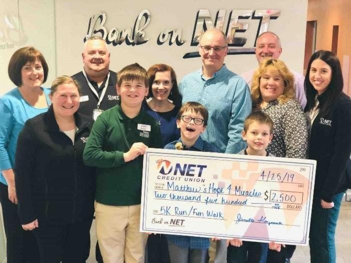NET Credit Union Sponsors Local Pediatric Cancer 5K Run/Fun Walk