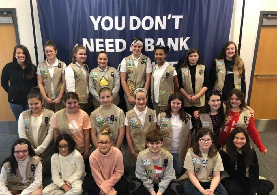 Girl Scout Group Photo