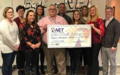 NET Credit Union Donates $15K to Local Children's Charity