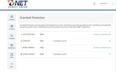 Trying to set up overdraft protection?