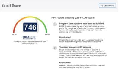 Want to know your credit score?