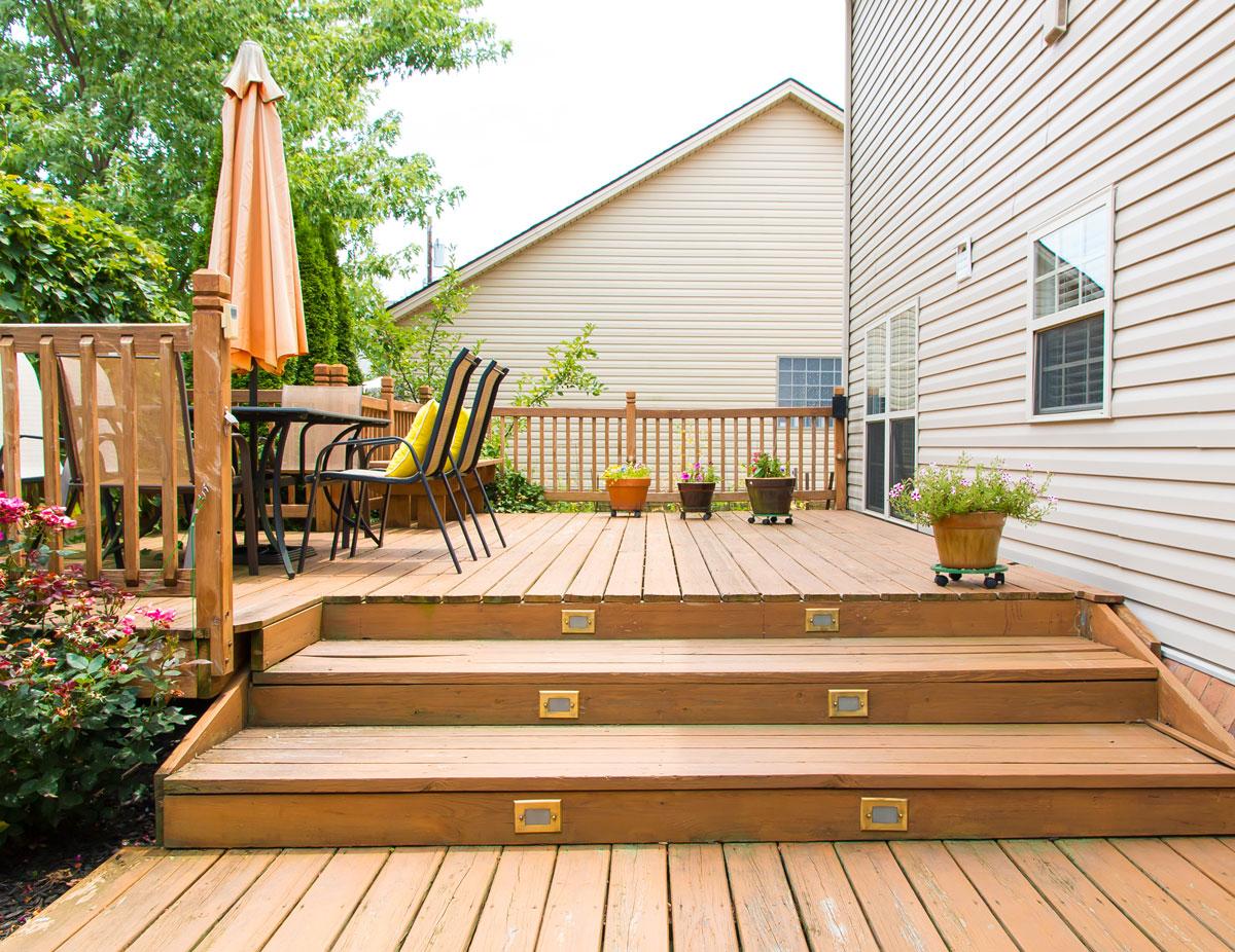 New Backyard patio HELOC Loans