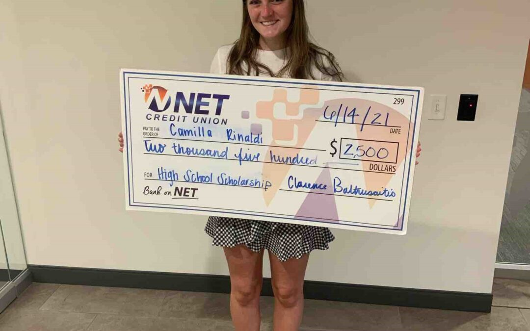 NET Credit Union Awards $5,000 In Scholarships