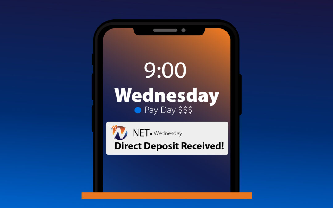 Mobile device with push notification from NET